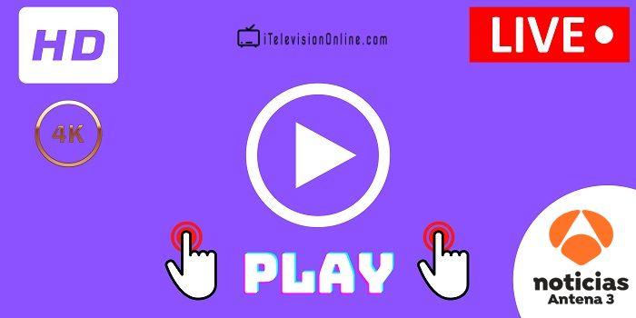 ver antena 3 noticias en directo online